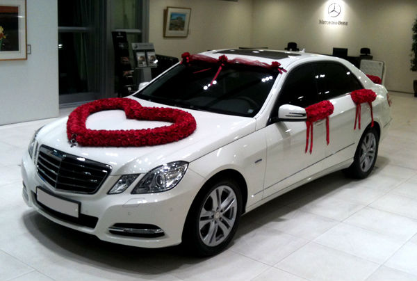 Wedding car decoration accessories